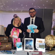 Clare and Sam at the Alrewas Hayes Wedding Fair