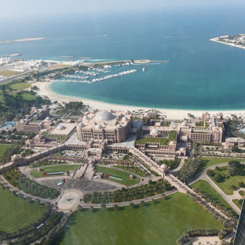 Abu_Dhabi_Nov16_6_Aerial Shot of Emirates Palace Hotel