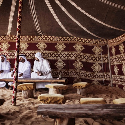 CULTURE - Arabic Tent, Dubai
