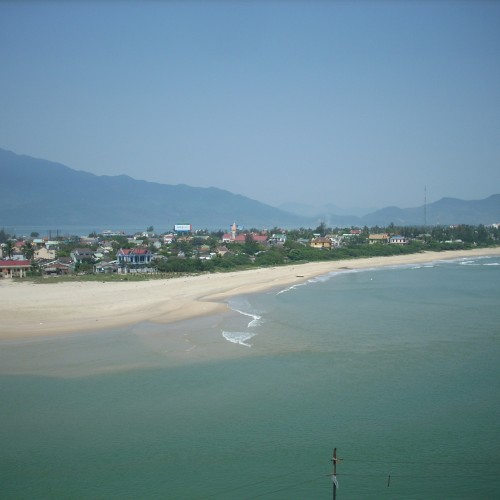 Vietnam, Lang Co Beach