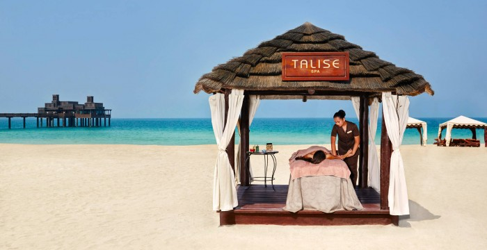 Madinat Juemirah - Talise Spa - beach cabana