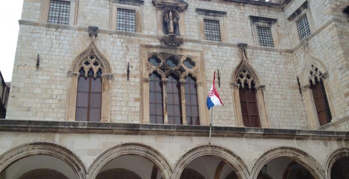Dubrovnik buildings, Croatia
