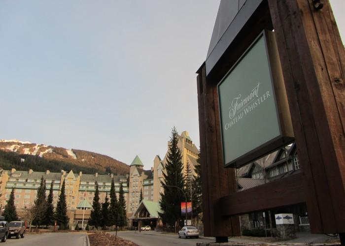 Fairmont Chateaux, Blackcomb Whistler, Canada