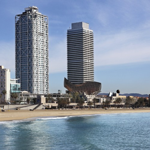 Ritz Carlton Hotel Arts Barcelona, Spain