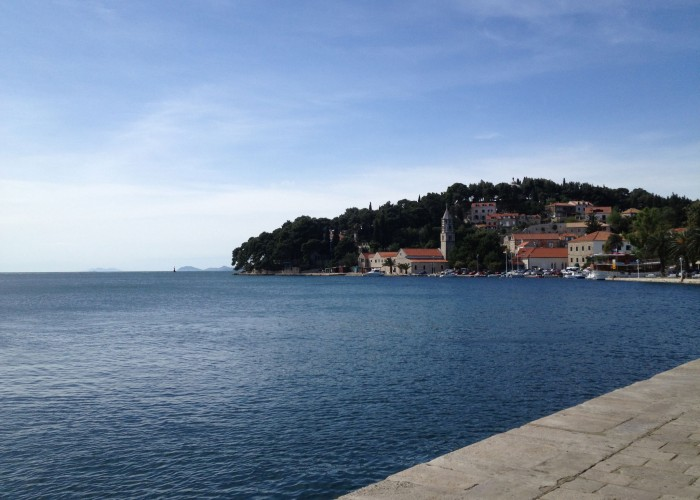 Views from the promenade at Cavtat, Croatia
