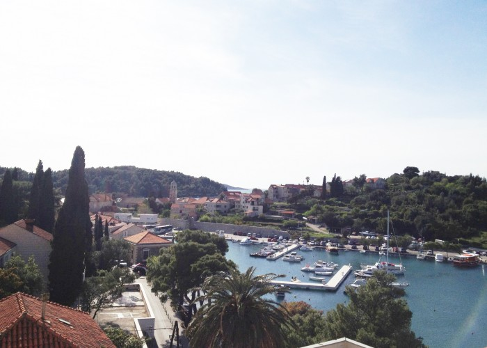 Views over the Harbour in Cavtat, Croatia