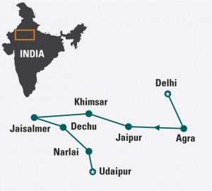 rajasthan-land-of-kings-india-group-tour-map