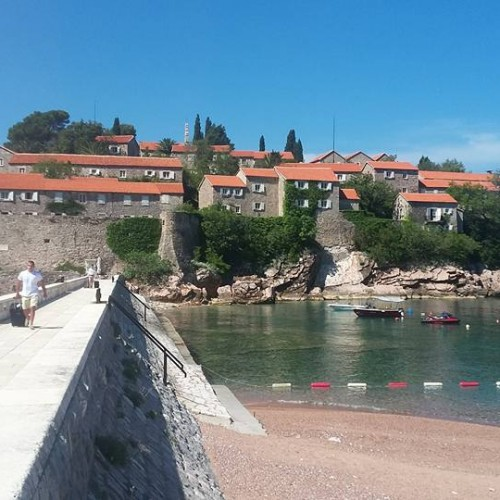 Entry to Aman, Montenegro