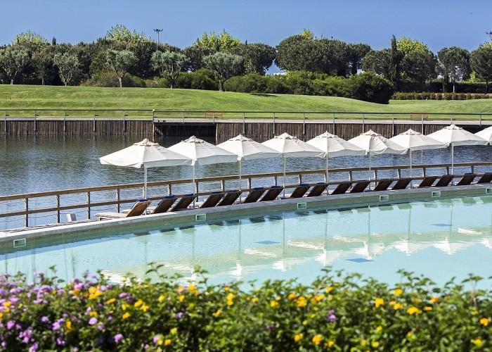 the lake resort, algarve, portugal
