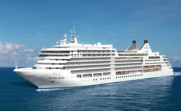 Silver muse ship, silverseas cruise