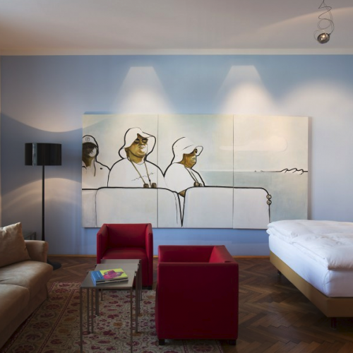 Altstadt hotel, vienna, austria