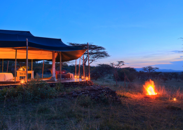 Kicheche valley camp, kenya, africa