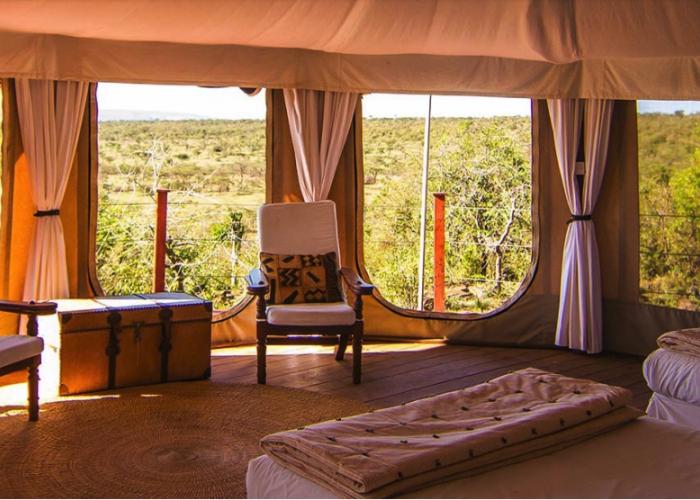 Ol seki hemmingways mara, kenya, africa