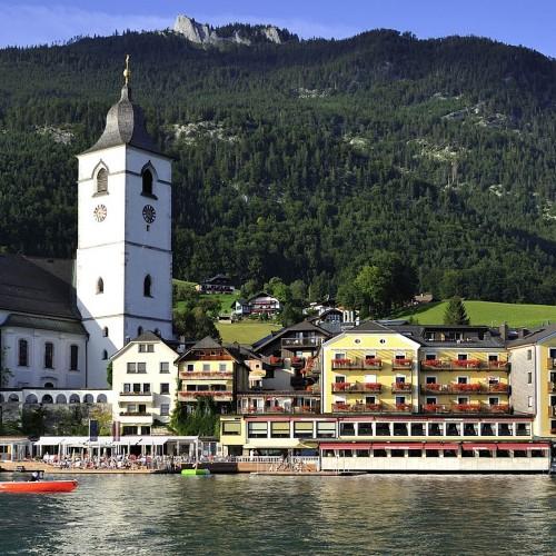 Romantik Hotel Im Weissen Rossl, salzburg, austria