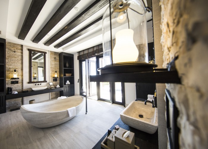 Alila Jabal Akhdar - Accommodation - Villa Jows - Bathroom 01