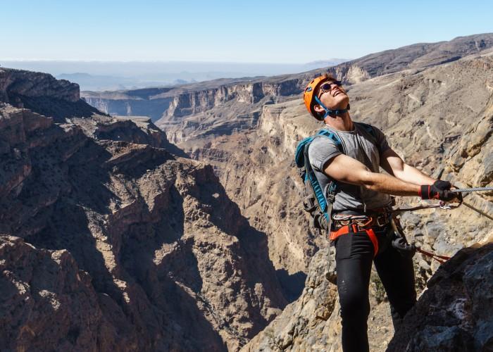 Alila Jabal Akhdar - The Alila Experience - Via Ferrata 06