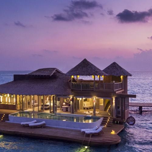 soneva jani, maldives, indian ocean