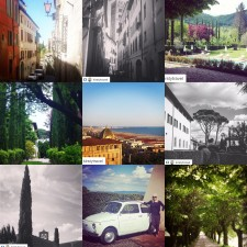 Kirsty Tuscany collage