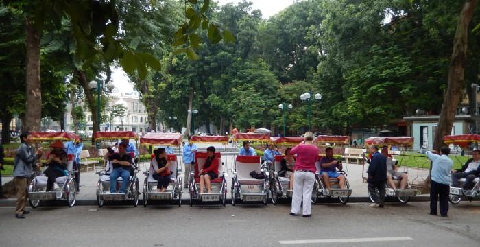 Hanoi - Rickshaw trip 1