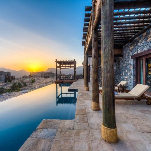 Alila Jabal Akhdar - Accommodation - Jabal Villa - Private Pool 01