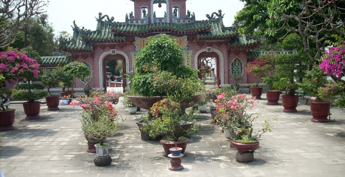 Chinese Temple, Vietnam