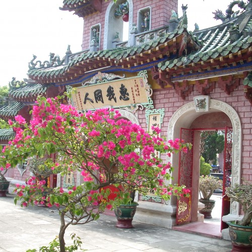 Gardens at Temple