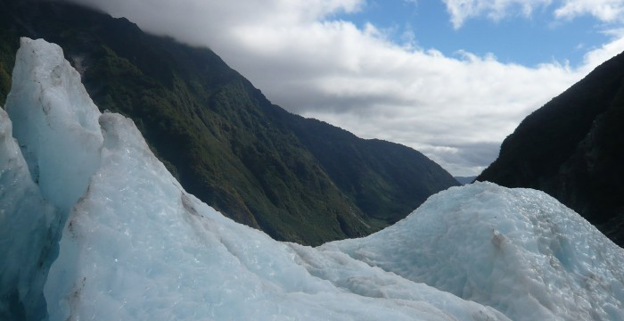 Glacier Walk, New Zealand