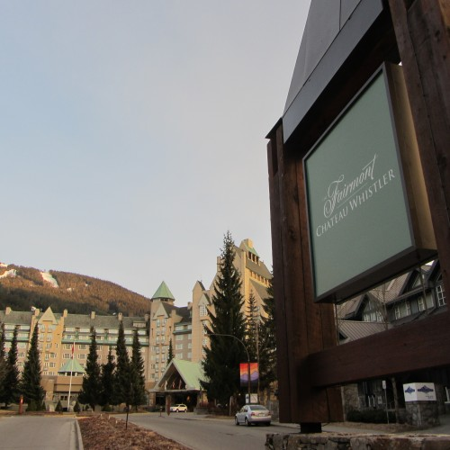 Fairmont Chateaux, Blackcomb Whistler, Canada