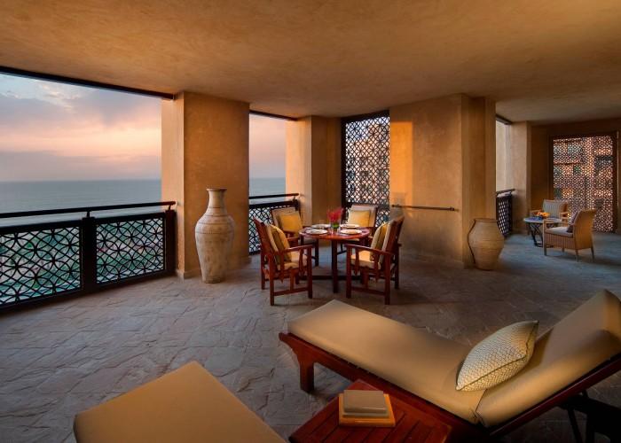 Madinat Jumeirah - Mina A_Salam - Ocean Suite terrace, Dubai