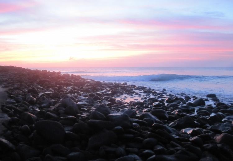 Ecuador, Galapagos, Sunset