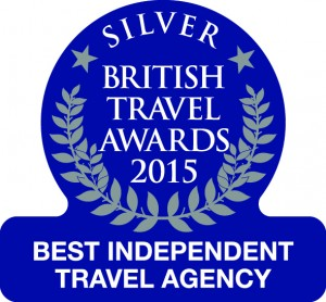 British Travel Awards Silver Best Independent Travel Agency