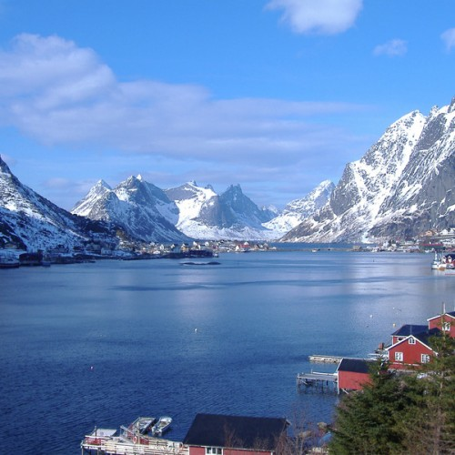 The-Reinefjord-in-Lofoten-Norway