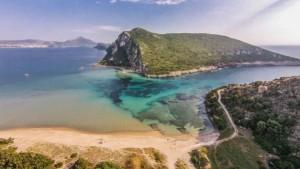 Glossa Beach, Costa Navarino, Greece