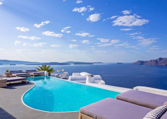 Katikies Hotel Santorini, Greece