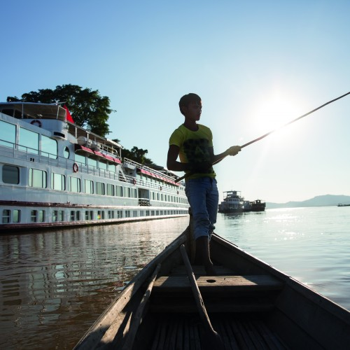 Belmond Road to Mandalay River Cruise