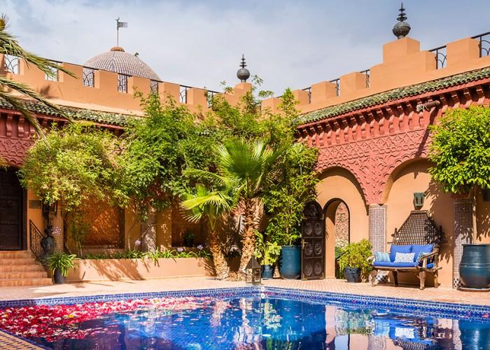 kasbah tamadot, morocco