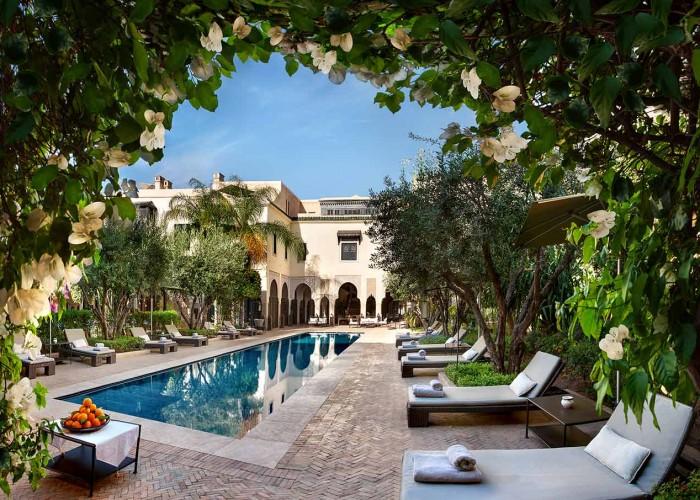 villa des orangers, marrakech, morocco