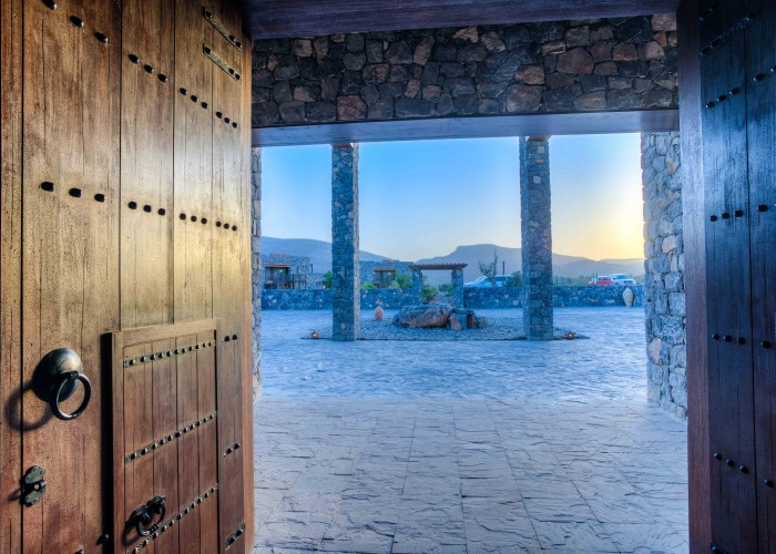 Alila Jabal Akhdar - Interior - Lobby 01