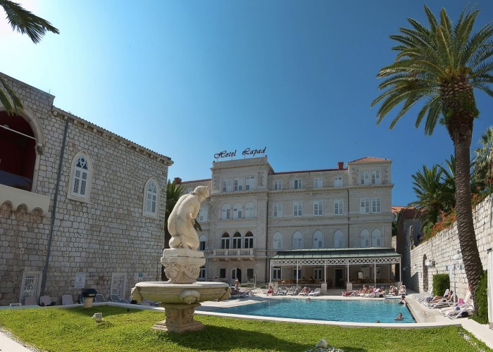 hotel lapad, dubrovnik, croatia