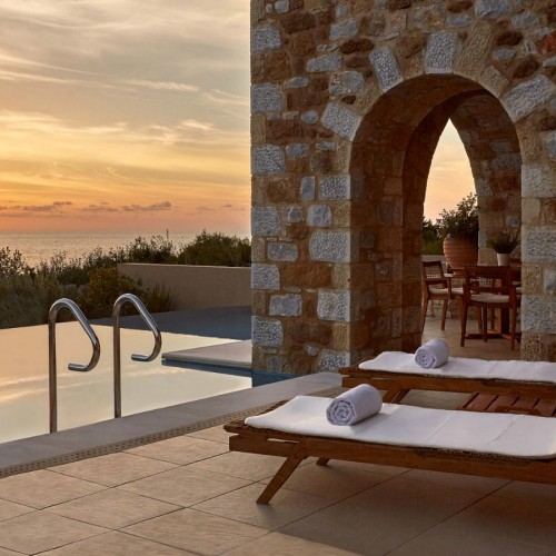 The-Westin-Resort-Costa-Navarino-Premium-Infinity-Suite-Pool-Sunset