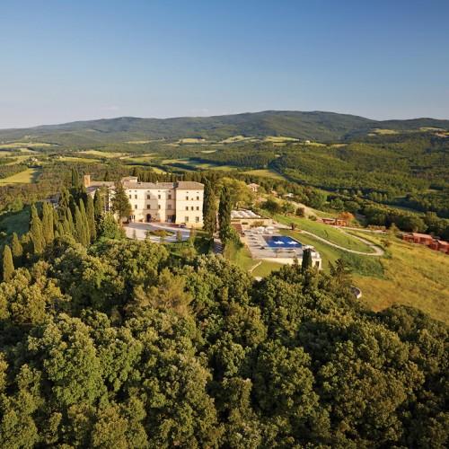 belmond castello di casole, tuscany, italy