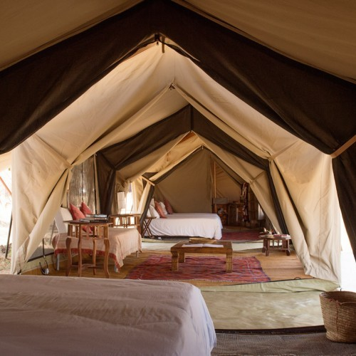 Serengeti safari camp, Tanzania, Africa