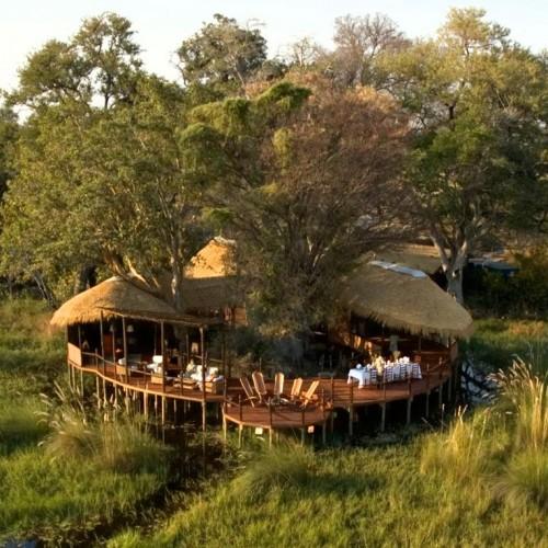 baines camp, Botswana, Africa