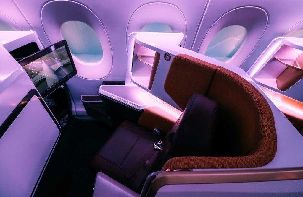 Virgin Atlantic A350 Upper Class