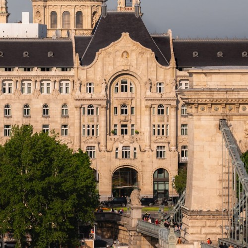 Gresham Hotel, Budapest, Europe